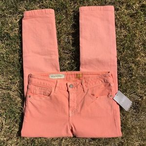 """NWT Pilcro and the Letterpress """"Stet"""" cropped jean"""